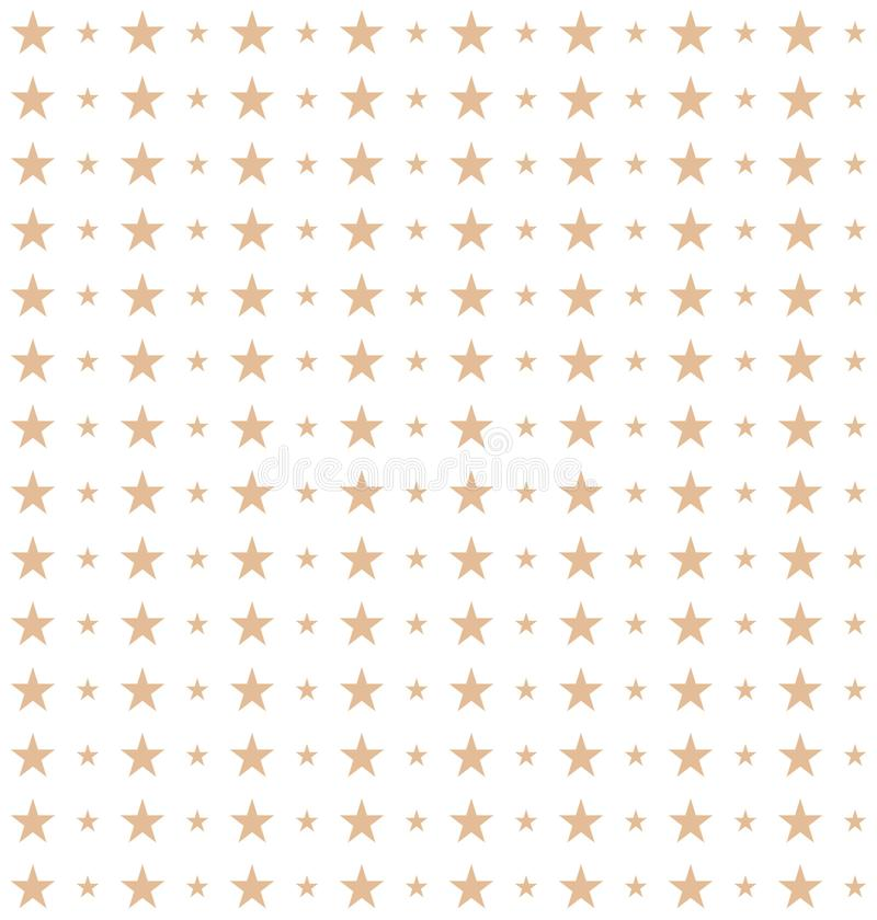 Seamless pattern of stars made in vector vector illustration