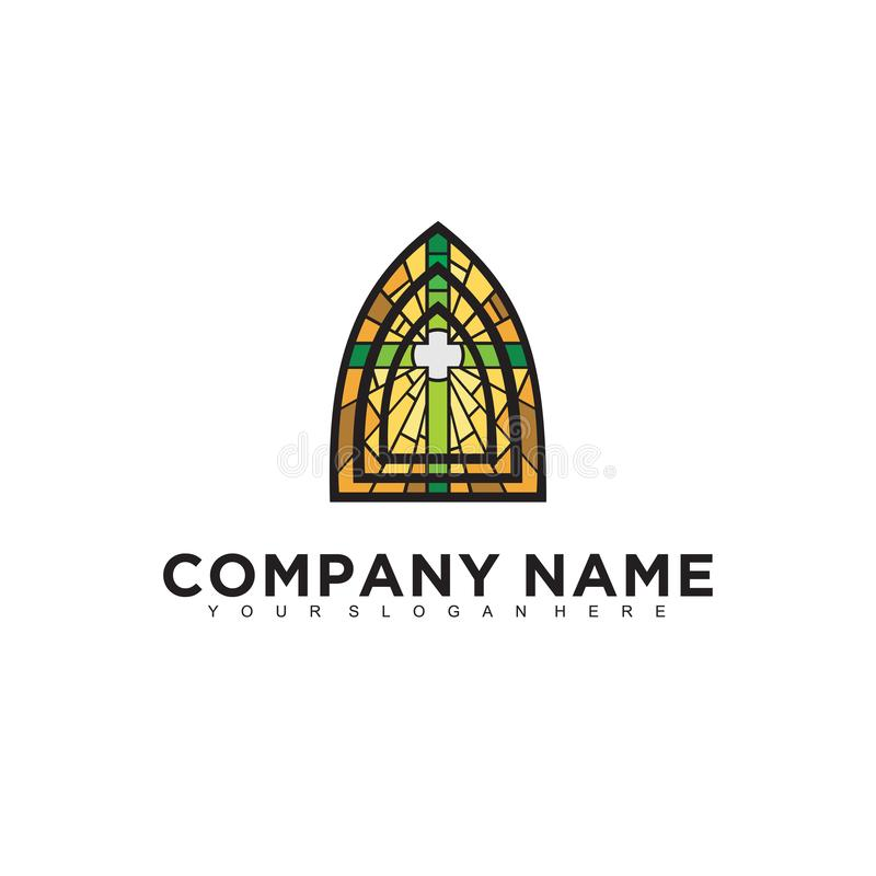 Simple minimalistic modern professional logo design of religion EPS illustrator template. Simple minimalistic modern professional logo design of religion stock illustration