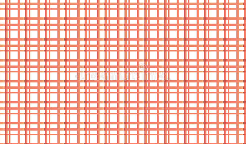 Simple Modern abstract red checkered mesh pattern stock photography