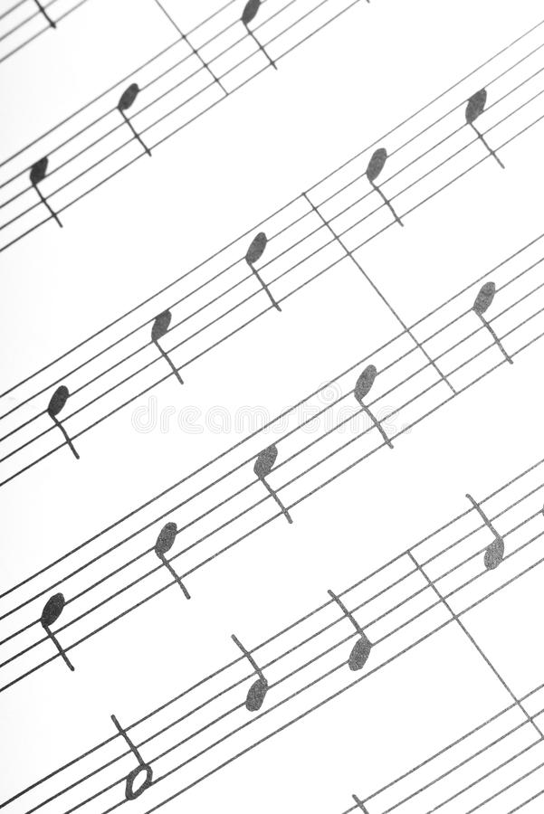 Download Simple musical notes stock image. Image of ordinary, line - 13316731