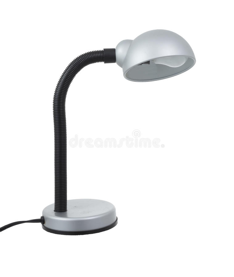 Simple Desk Lamp. Royalty Free Stock Image