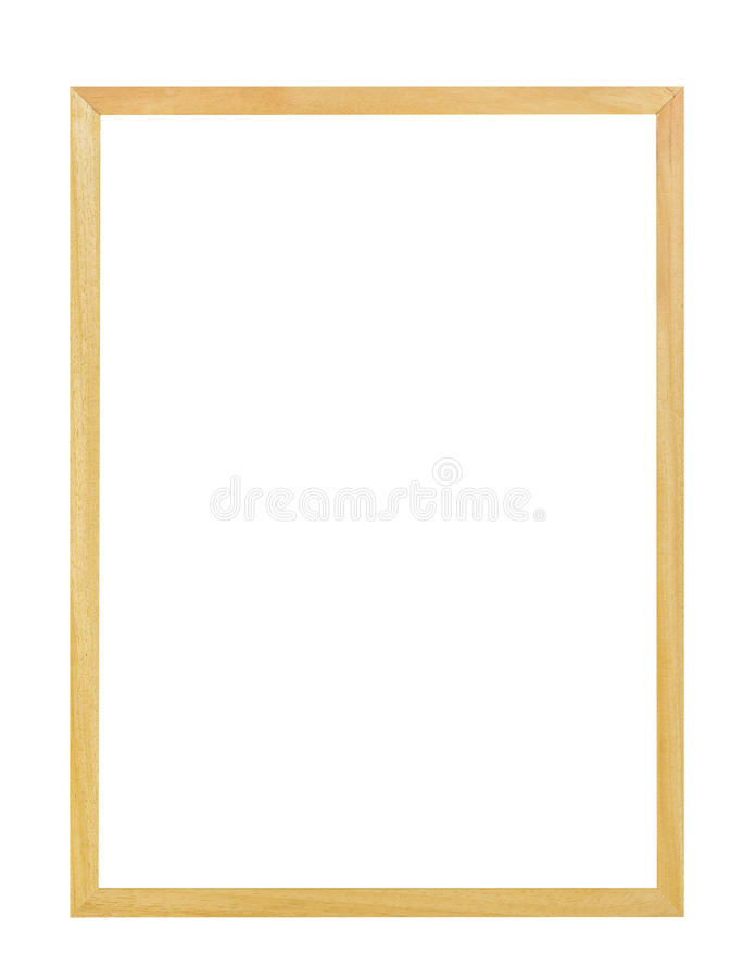 Simple picture frame stock image