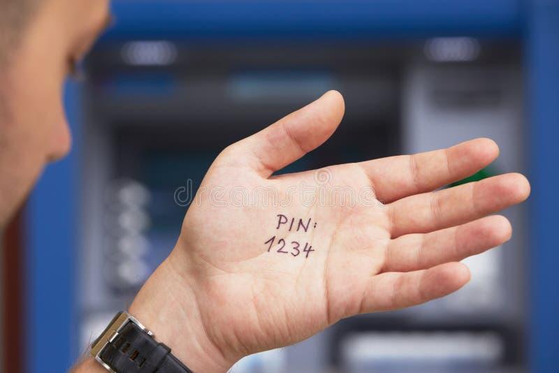 Simple PIN code stock photos