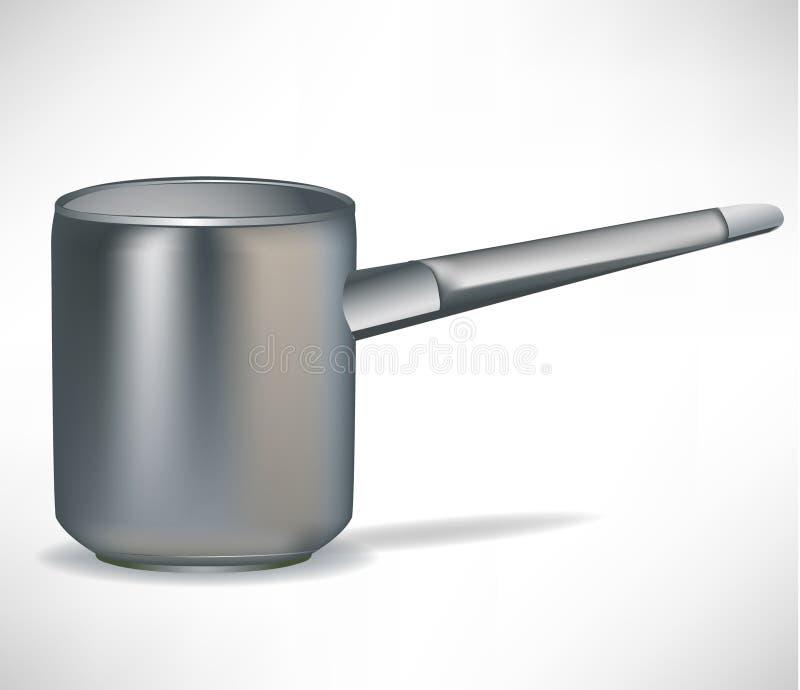 Simple pot stock illustration