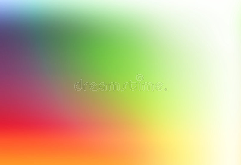 Simple Rainbow Template Stock Illustration Illustration Of