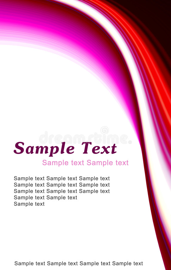Free Simple Red Template Stock Photo - 5544120
