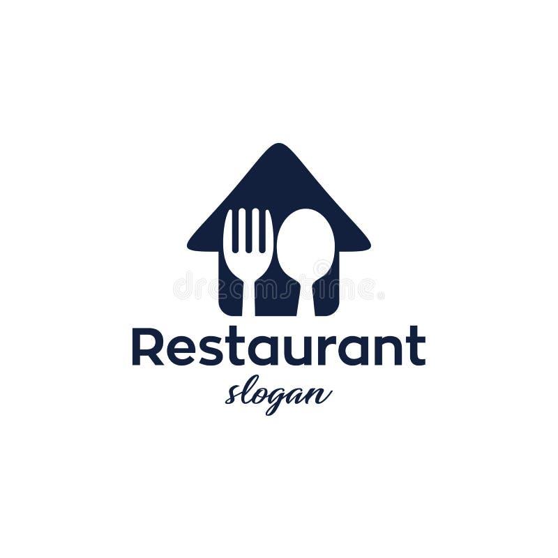 SImple Restaurant Logo Design Template vector illustration