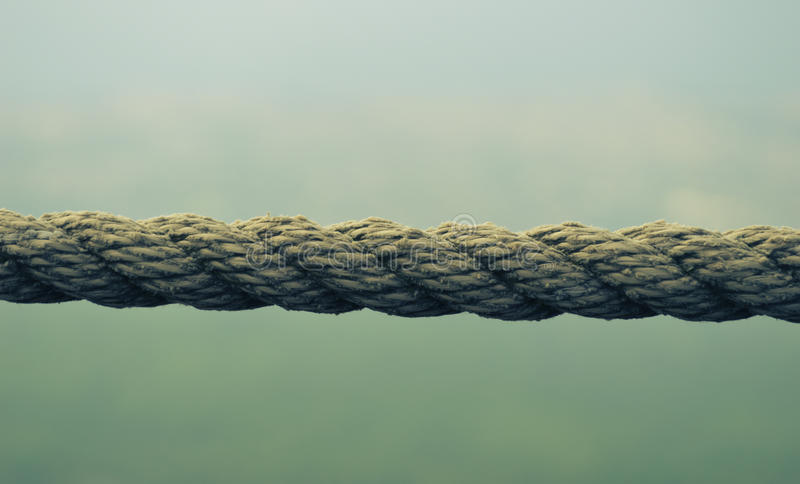Simple rope royalty free stock image