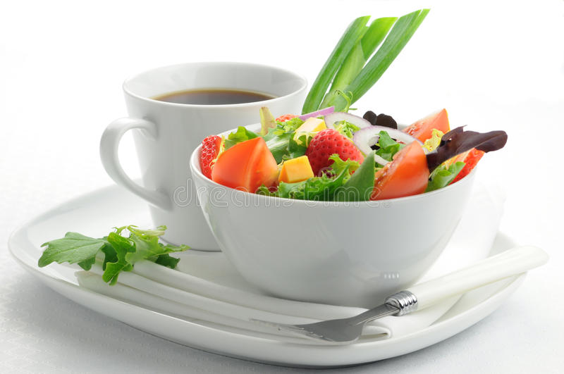 Download Simple Salad Stock Photo - Image: 10406950