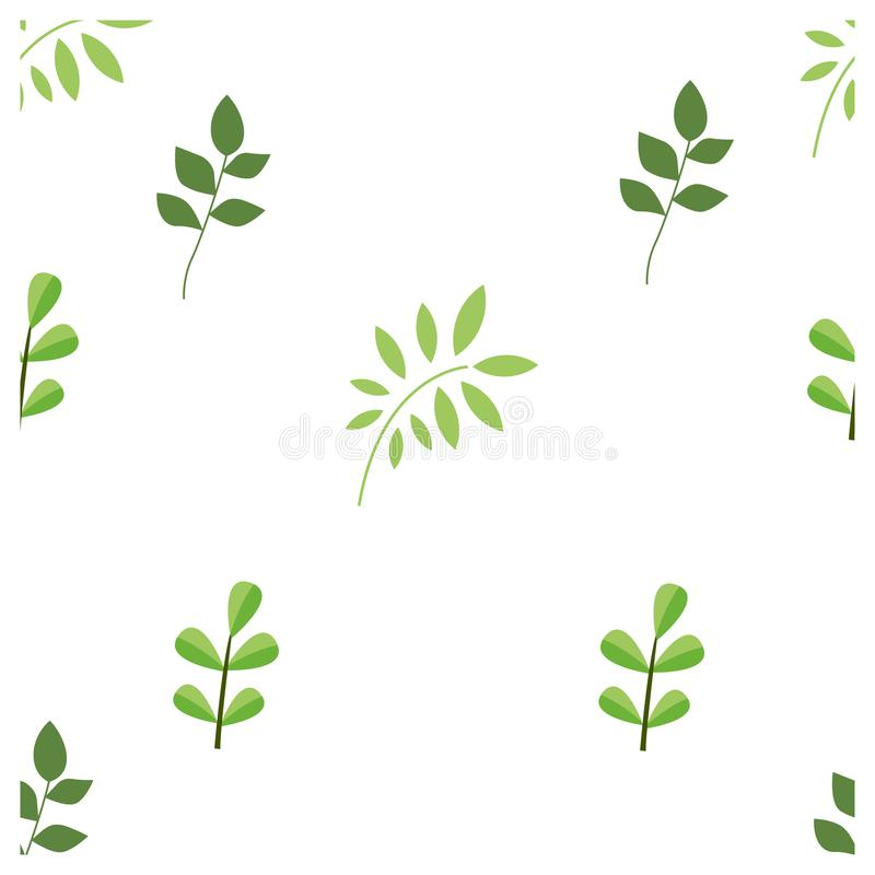 simple seamless pattern a leaf design vector stock images