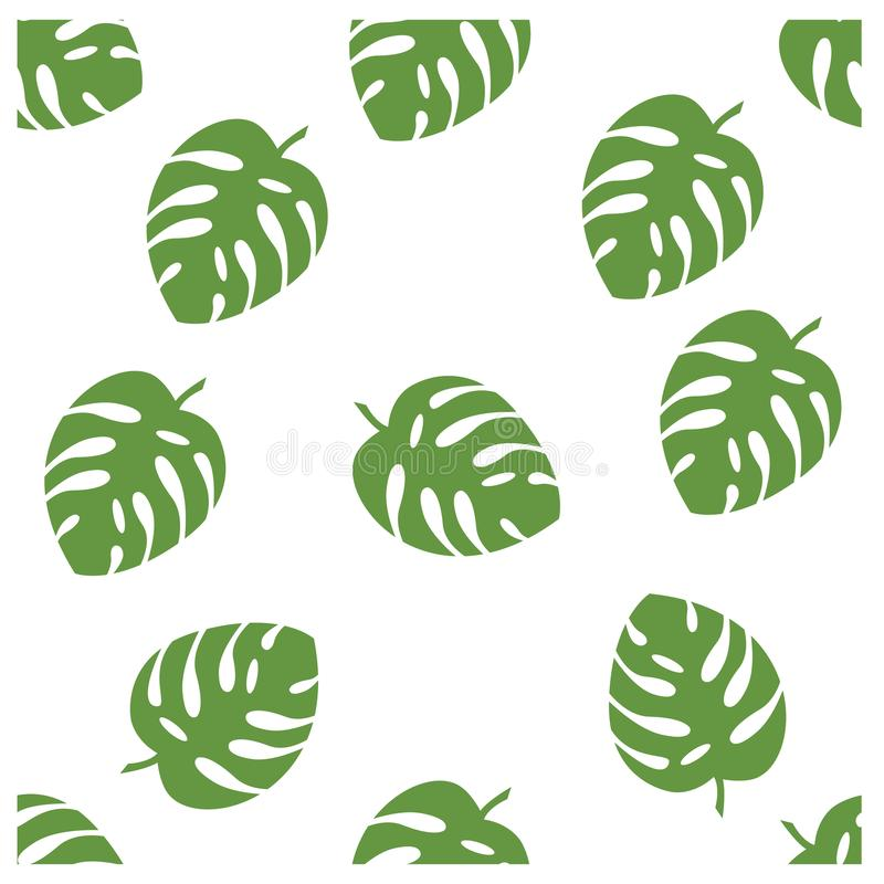 simple seamless pattern a leaf design vector royalty free stock images