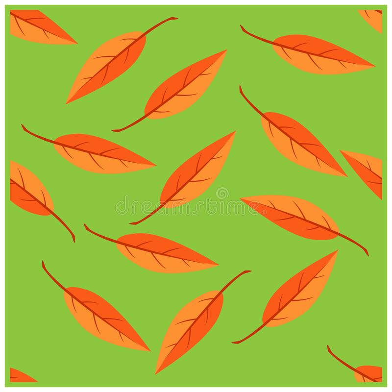 simple seamless pattern a leaf design vector royalty free stock photos