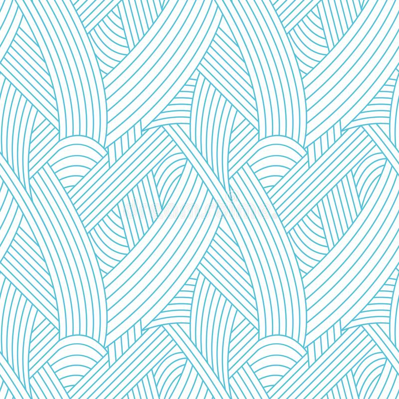 Lines seamless pattern royalty free stock photos