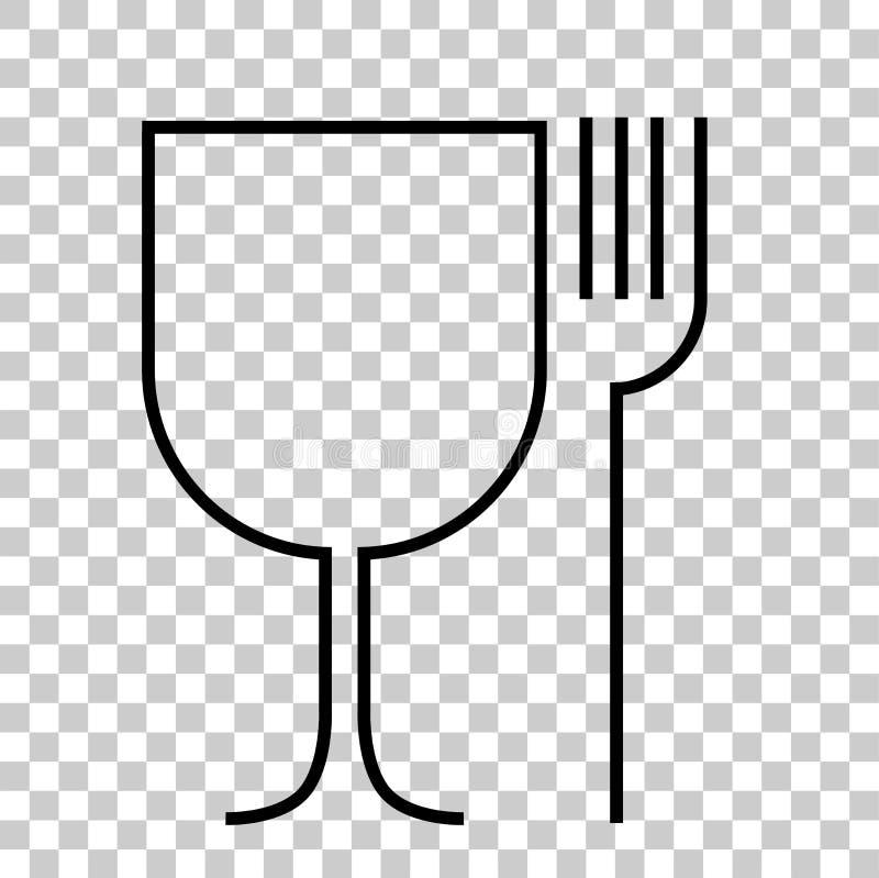 Simple Sign, Food Grade. Vector Simple Sign, Food Grade stock illustration