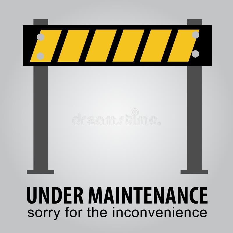 Hasil gambar untuk sorry under maintenance