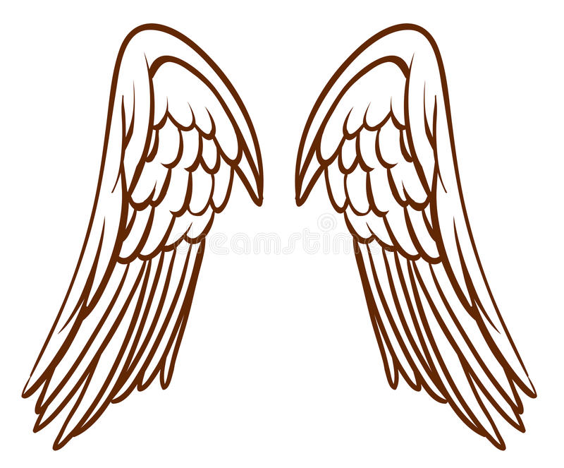 how to make simple angel wings
