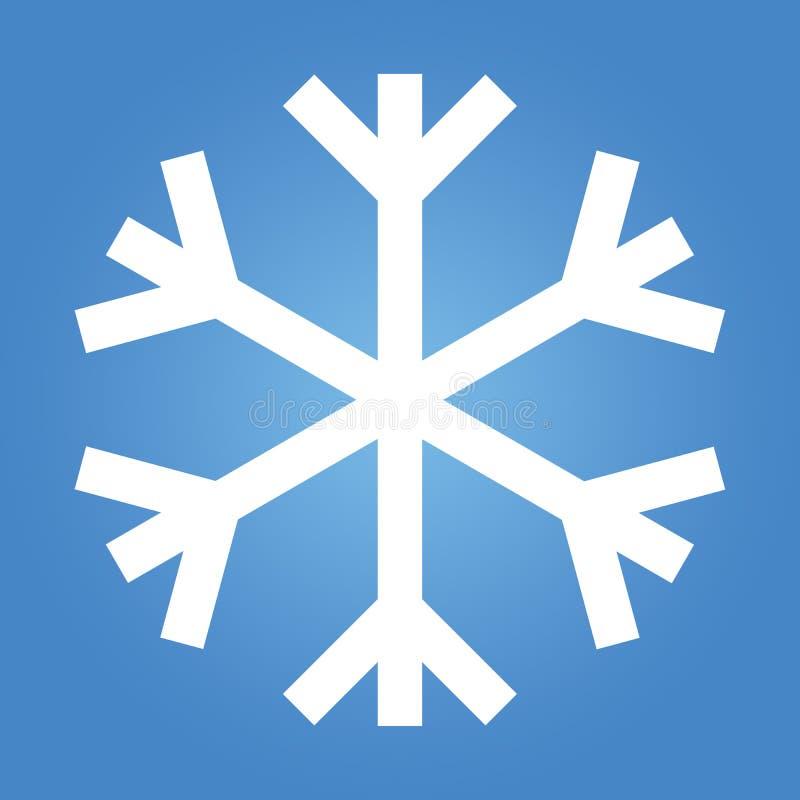 Download Simple Snow Flake stock illustration. Illustration of blue - 26815525