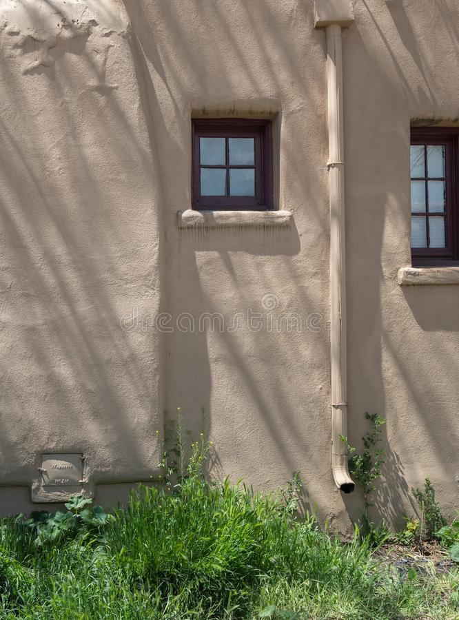 Simple Southwestern architecture royalty free stock photography