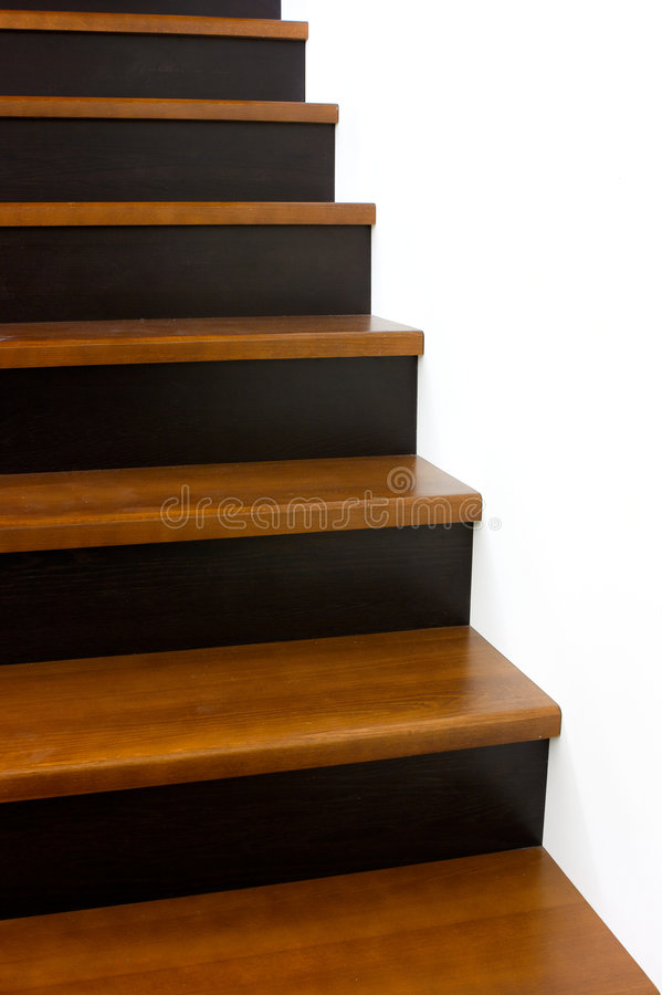 Download Simple Stairs Stock Image. Image Of Modern, White, Wooden   7122843