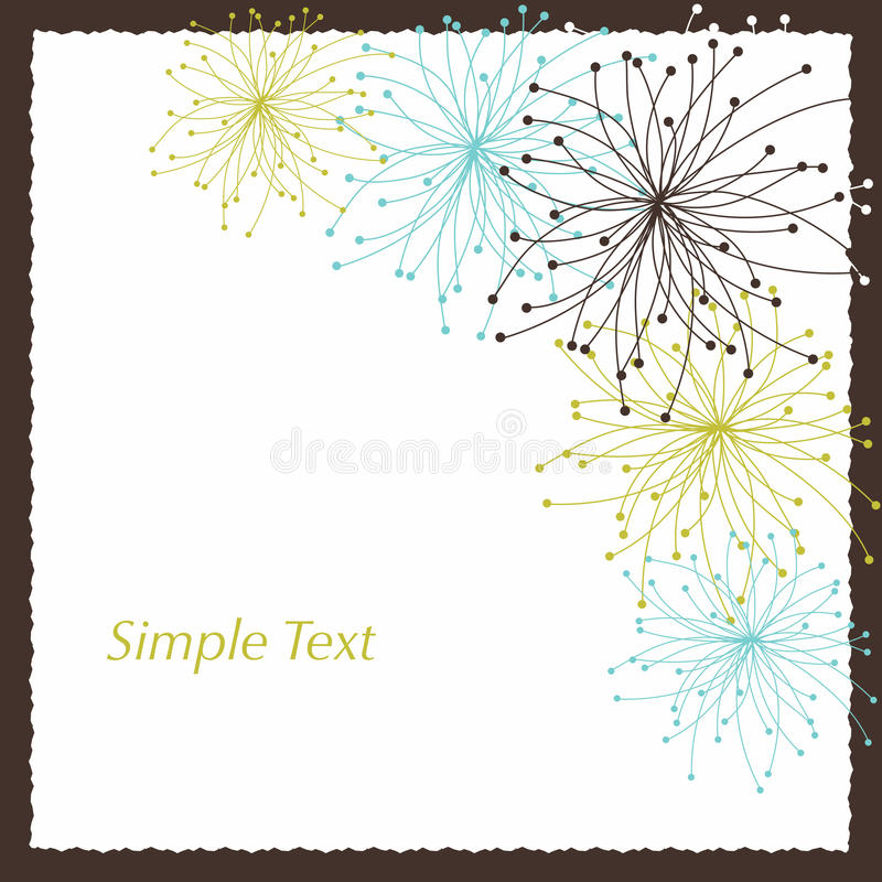 Simple text vector illustration