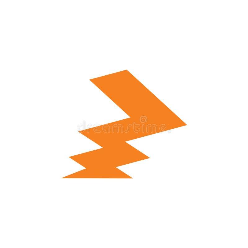 Zigzag Abstract Design Logo Vector Stock Vector