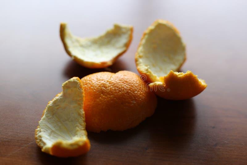 Simple toujours des peaux d'orange photo stock