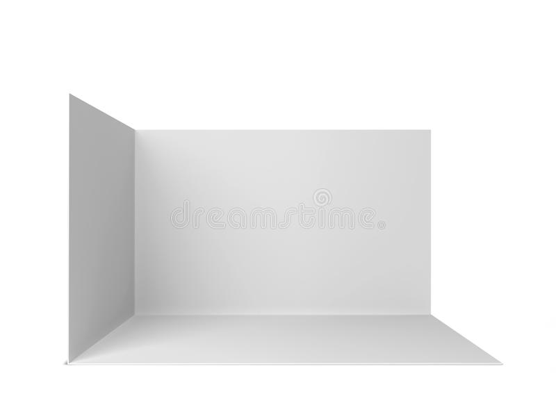Simple trade show booth royalty free illustration