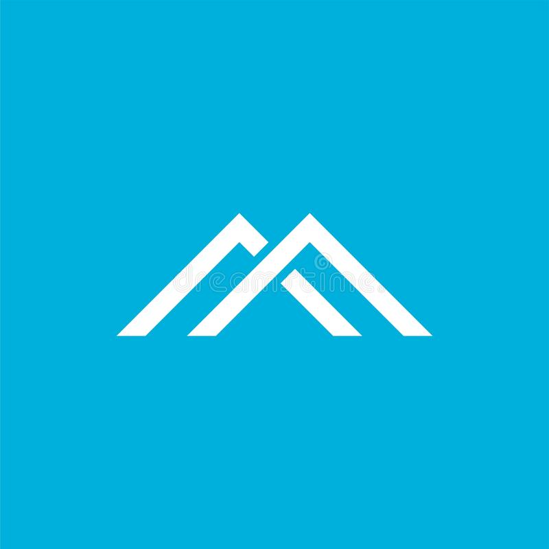 Letter D With Stripes Arrow Logo Vector Stock Vector
