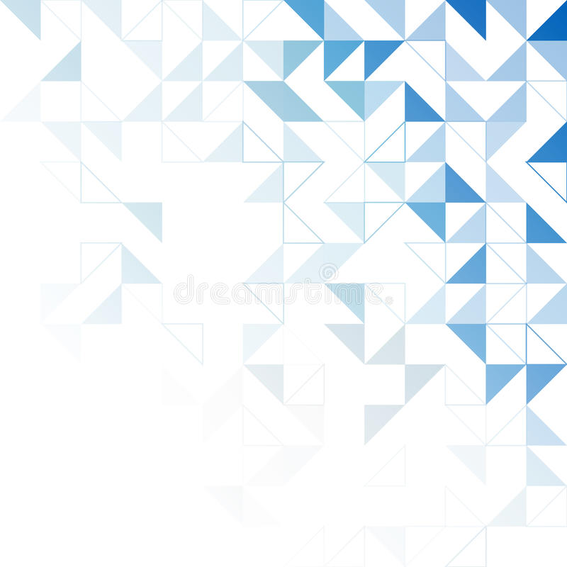 Download Simple triangular pattern stock vector. Image of geometry - 83718325