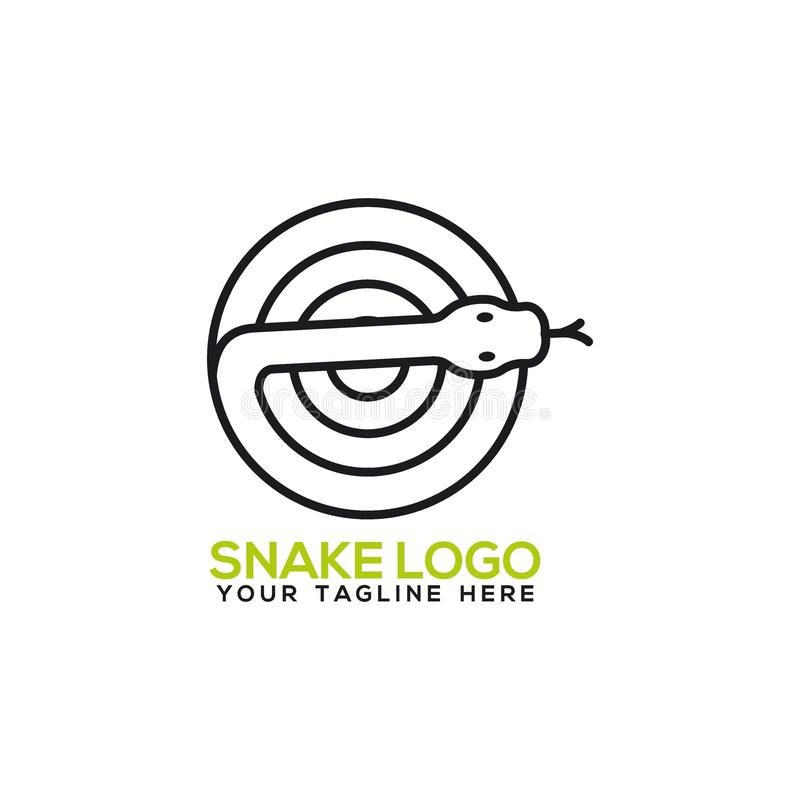 Snake Logo Vector Art Logo Template And Illustration Stock Vector ...