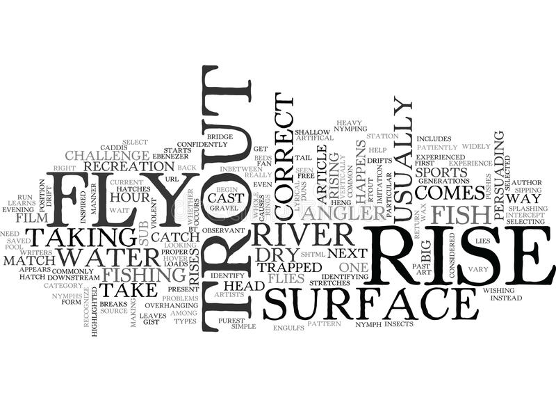 A Simple Way To Identify And Catch The Big One In River Word Cloud. A SIMPLE WAY TO IDENTIFY AND CATCH THE BIG ONE IN RIVER TEXT WORD CLOUD CONCEPT vector illustration