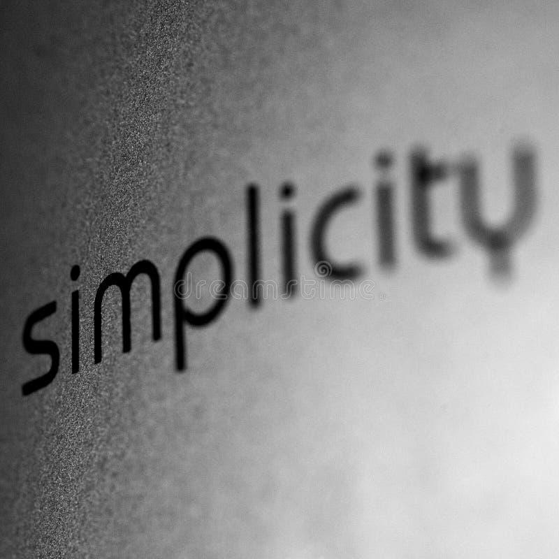 simplicidad imágenes de archivo libres de regalías