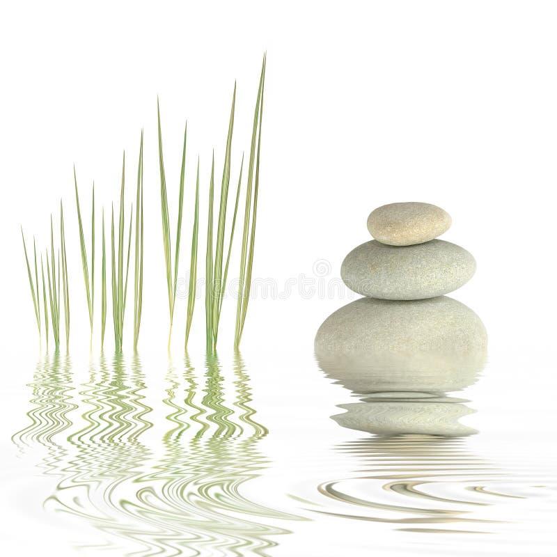 Simplicidade do zen imagem de stock