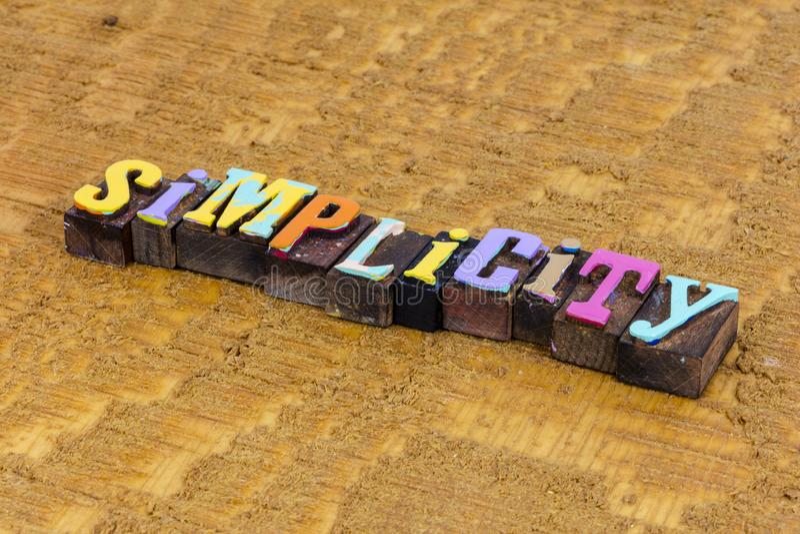 Simplicity simple abstract idea success creative fast solution stock photos