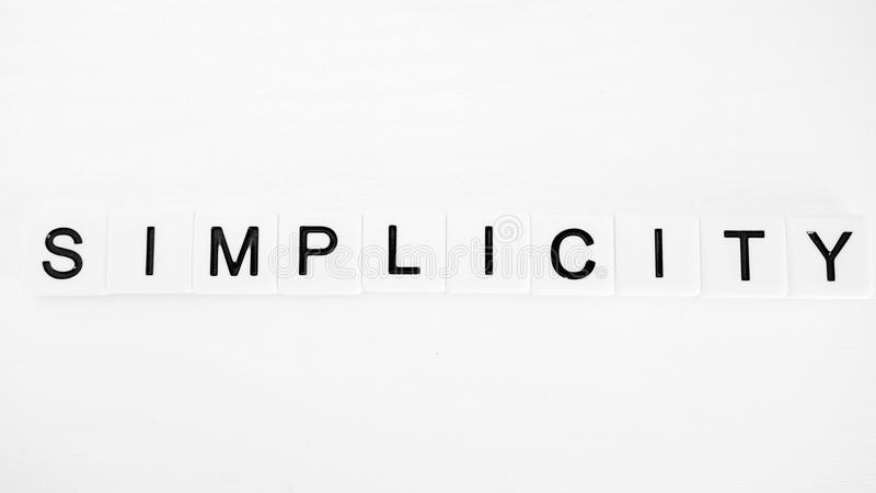 Simplicity royalty free stock images