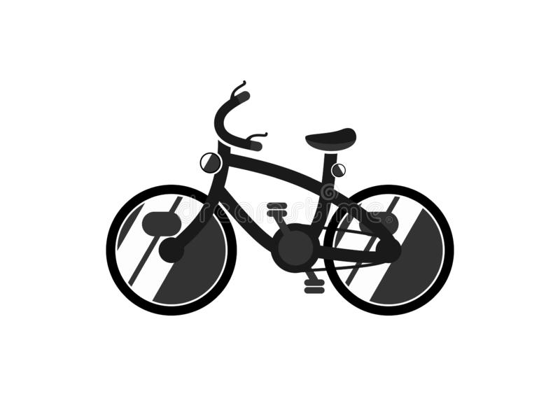 The nun on a bicycle. stock vector. Illustration of ...