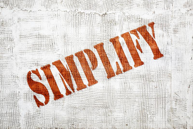 Simplifique grafittis na parede do estuque imagens de stock