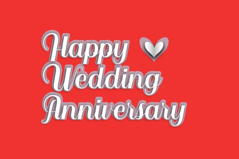 Happy Wedding Anniversary Stock Illustrations 85 894 Happy