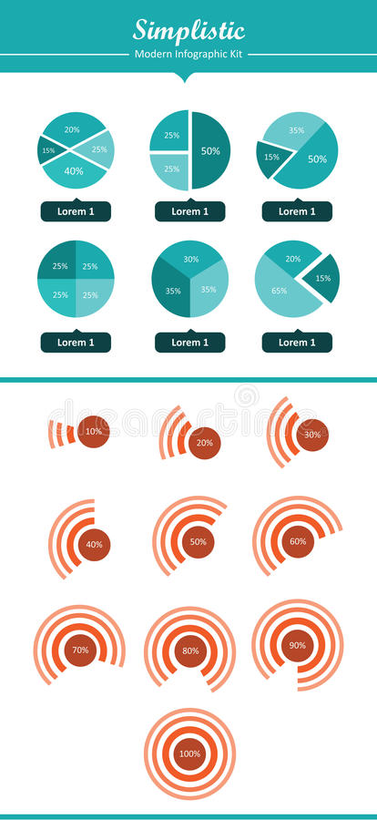 Simplistic - Modern Infographic Kit - 3. This is a cool, creative and very high quality pack of infographic elements for web design projects. This pack is stock illustration
