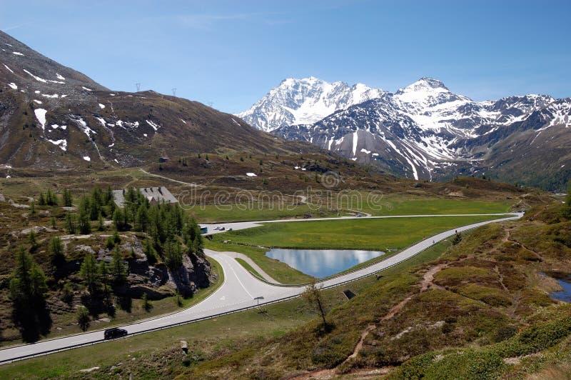 Simplon Pass landscape royalty free stock photography