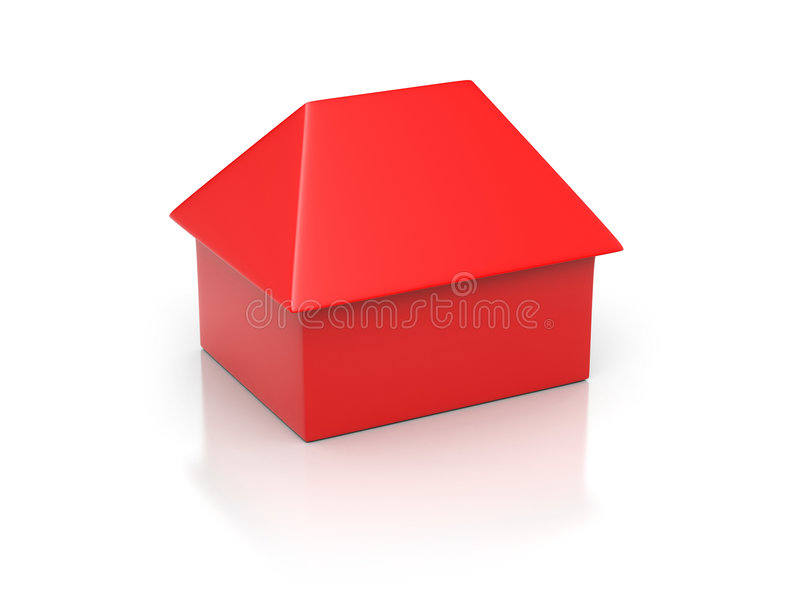Download Simply house stock illustration. Image of isolated, estate - 8298870