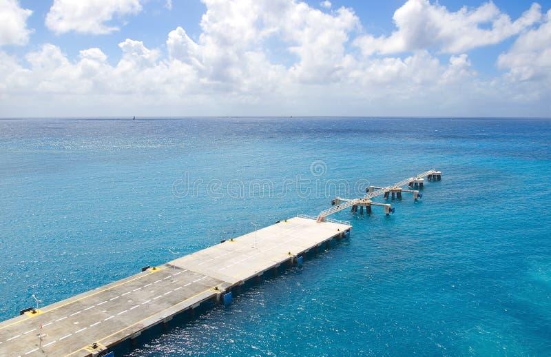 Simpson-Baai en Grote Baai - Philipsburg Sint Maarten - Caraïbisch tropisch eiland stock foto
