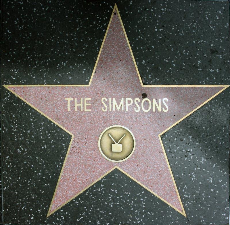 Simpsons stock foto's
