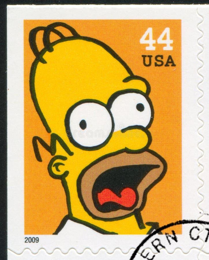 Simpsons стоковые изображения