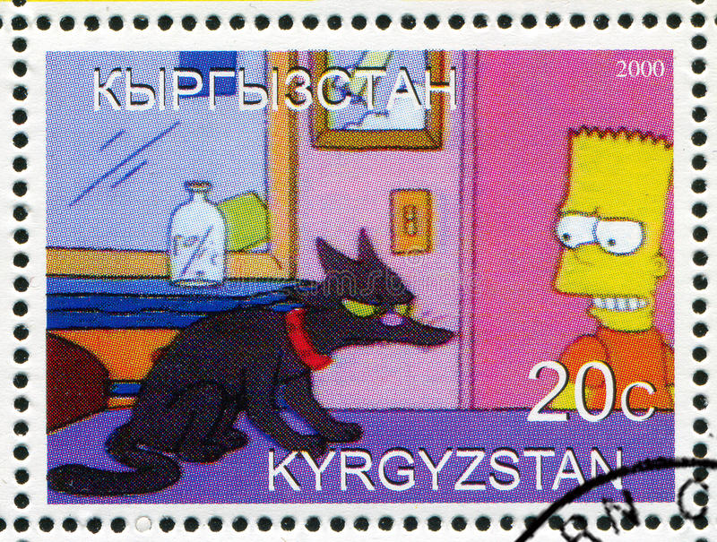Simpsons images stock