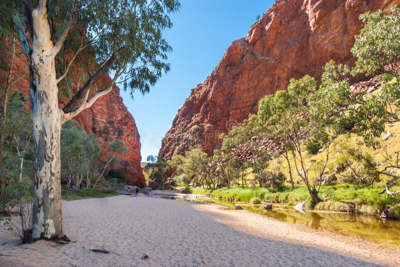 Download Simpsons Gap, MacDonnell Ranges, Australia Royalty Free Stock Image - Image: 30454386