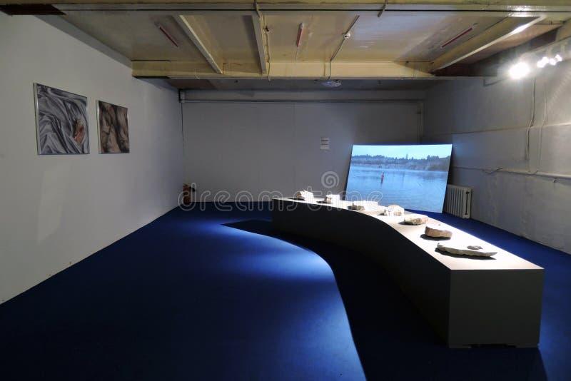 simsalabim Youngart Internationell modern konst biennale i Moskva arkivbild