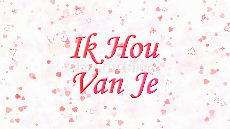 Ich Liebe Dich Auf Niederländisch