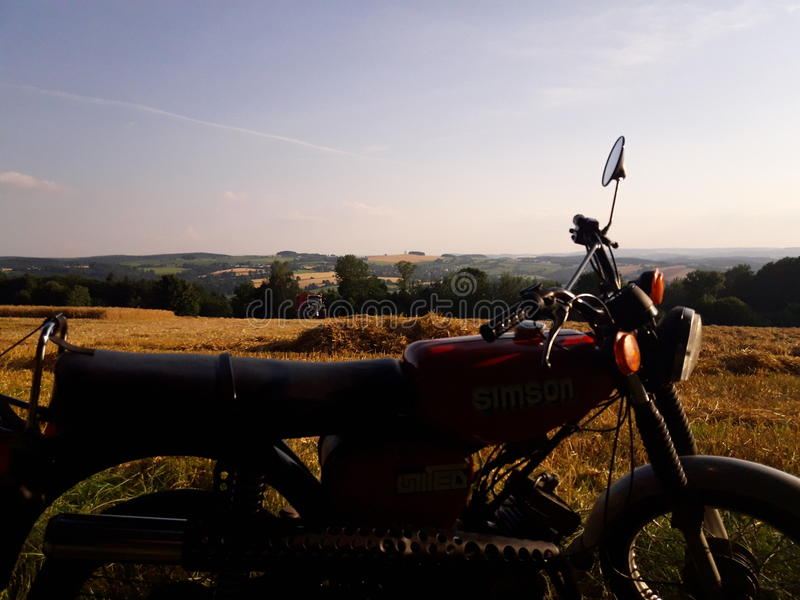 Simson S51 Enduro images stock
