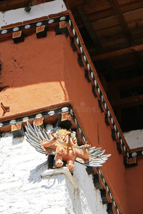 Simtokha Dzong -廷布-不丹(2) 库存图片